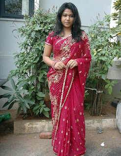 Tollywood Actress jyothi in Saree Pictures