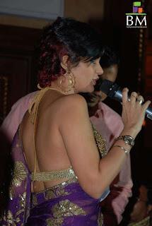 Sexy Bikini Style Blouse Design | Mandira Bedi Blouse Back Design