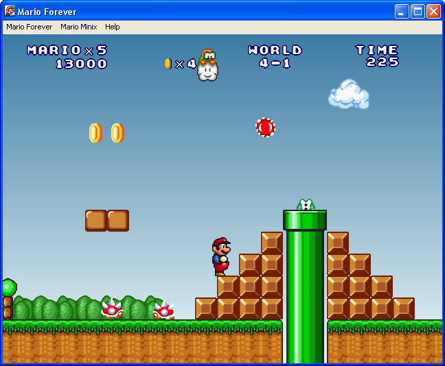 how to play mario bros on pc