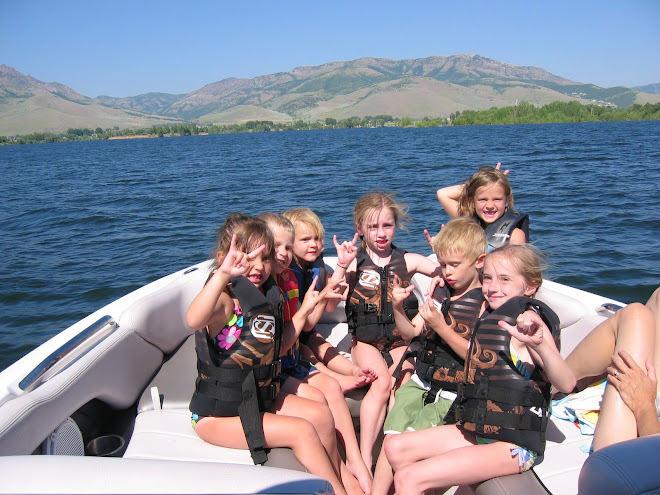Clark cousins on Pine View Lake