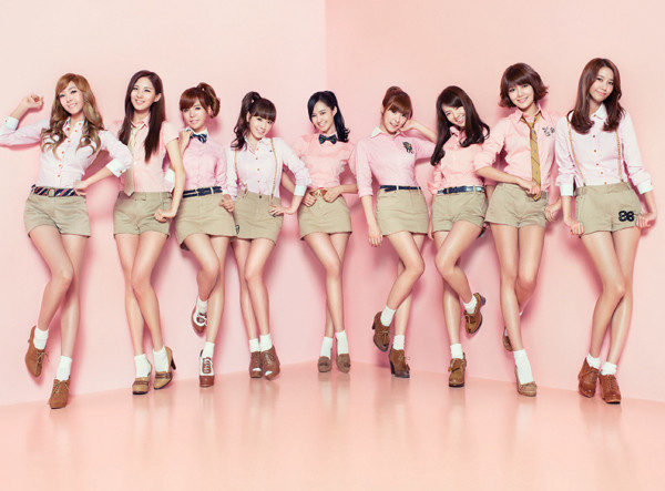 Girls' Generation appeared on today's episode of Good Morning Japan!,
