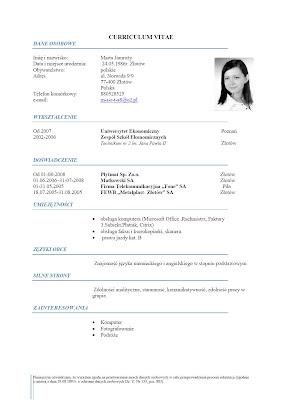 marta jamrozy : CV