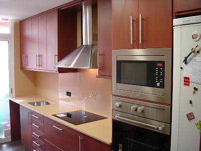 Mueble para poner horno y microondas