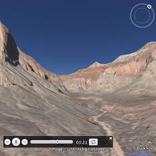 Playing tours in the Google Earth Plugin