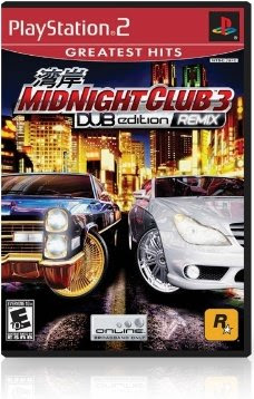 Midnight Club 3: DUB Edition Remix - PS2 iso