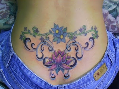 Sexy Lower Back Tattoo Designs For Women. at 4:12 AM Labels: Flower Tattoo,