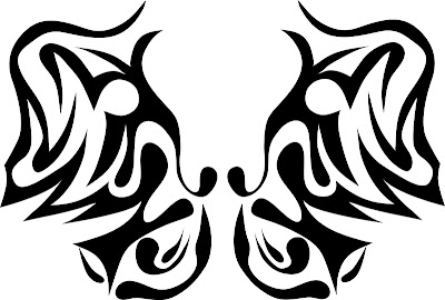 New Tribal Butterfly Tattoos Designs 2015