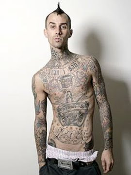 Travis Barker Tattoos Style