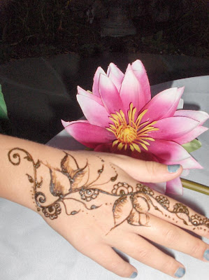 Henna Mehndi Temporary Tattoos