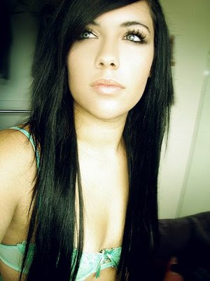 Black Emo Long Hairstyles