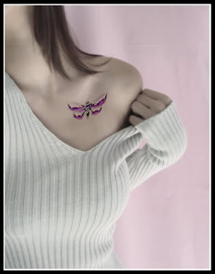 Dragonfly tattoo designs are wildly popular for women. They love the free,