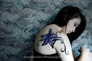 classic tattoo flower and vine tattoo designs ideas for trendy tattoos. Black Bedroom Furniture Sets. Home Design Ideas