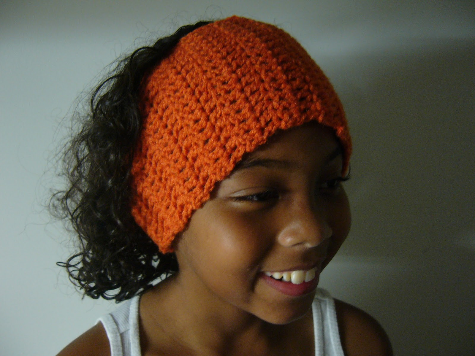 Crochet Flower Ear Warmer Tutorial : Mixin it up with DaPerfectMix: Easy Head Warmer Pattern