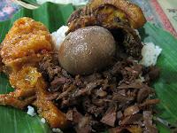 Gudeg yogja Indonesia traditional cuisine culinary food