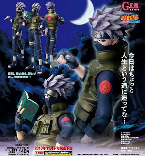 hatake kakashi pvc figure gem series