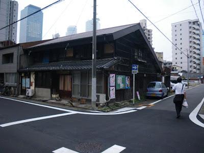名駅3丁目から見た名古屋駅付近の高層ビル