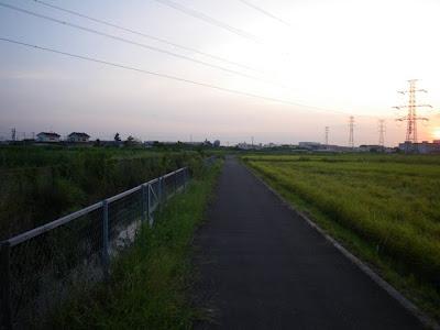 菖蒲町に入ったところ