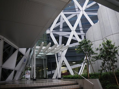 The Cocoon Tower entrance