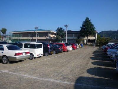 小鹿野中学校校庭