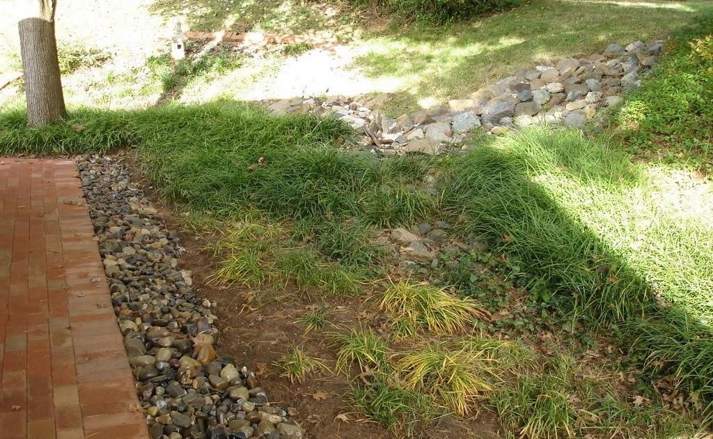 Drainage Gravel Cell : Gravel lok bonded aggregate french drain system