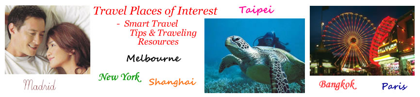 Travel Interesting Places, Places of Interest, Tourist Attractions, Places to see & visit