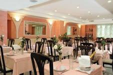 La sala da pranzo dell'Hotel Borgo Marina