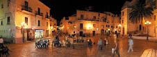Piazza Rovelli a Rodi Garganico