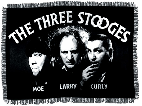 Two Way Roads: THE THREE STOOGES
