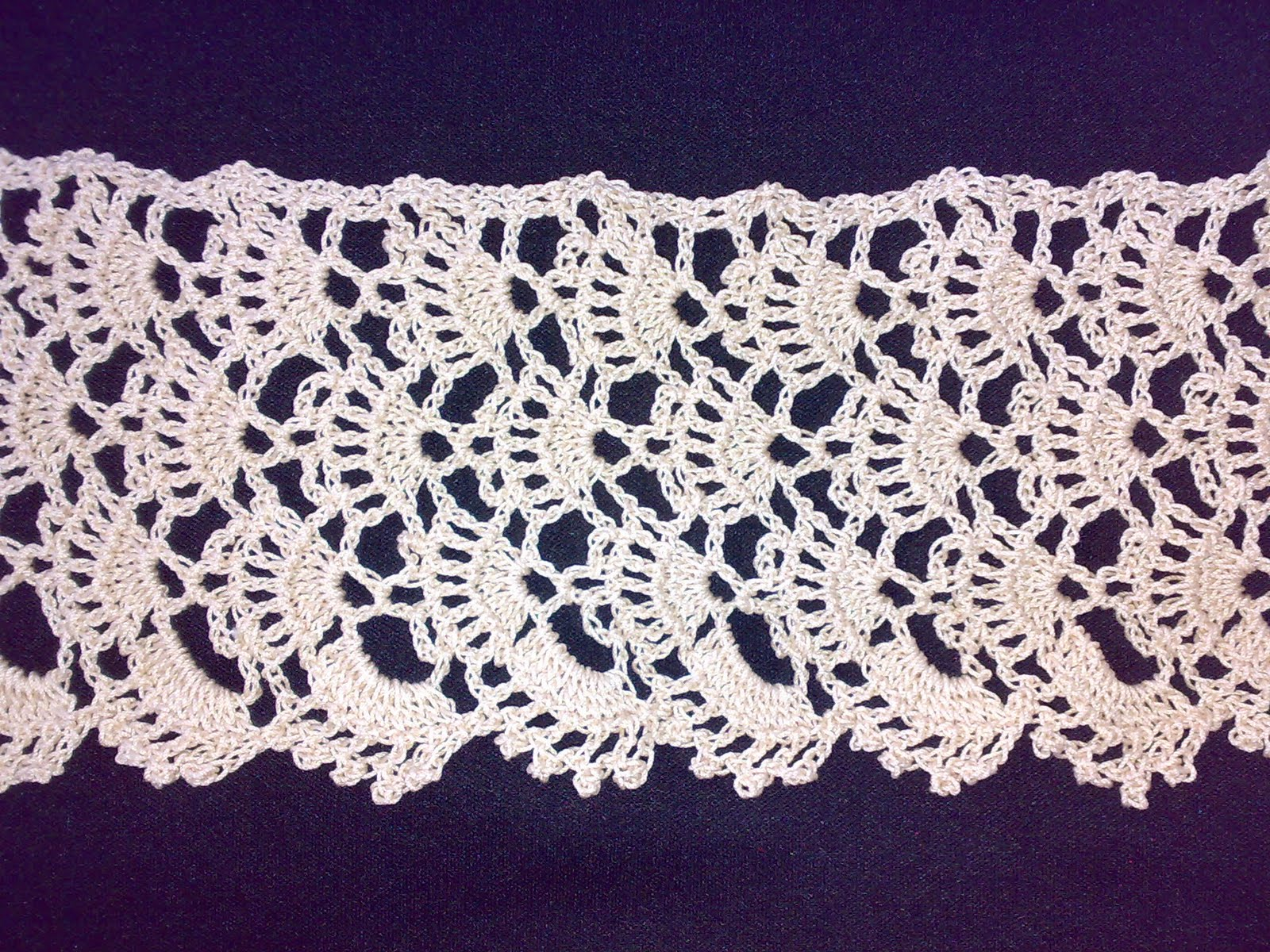 Crocheting Lace : Crochet Spot ?? Blog Archive ?? Crochet Pattern: Broomstick Lace