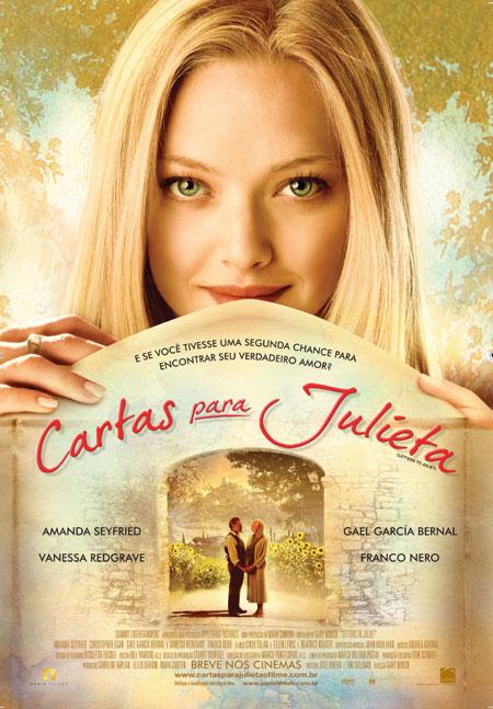 O Filme da Semana - Cartas para Julieta.