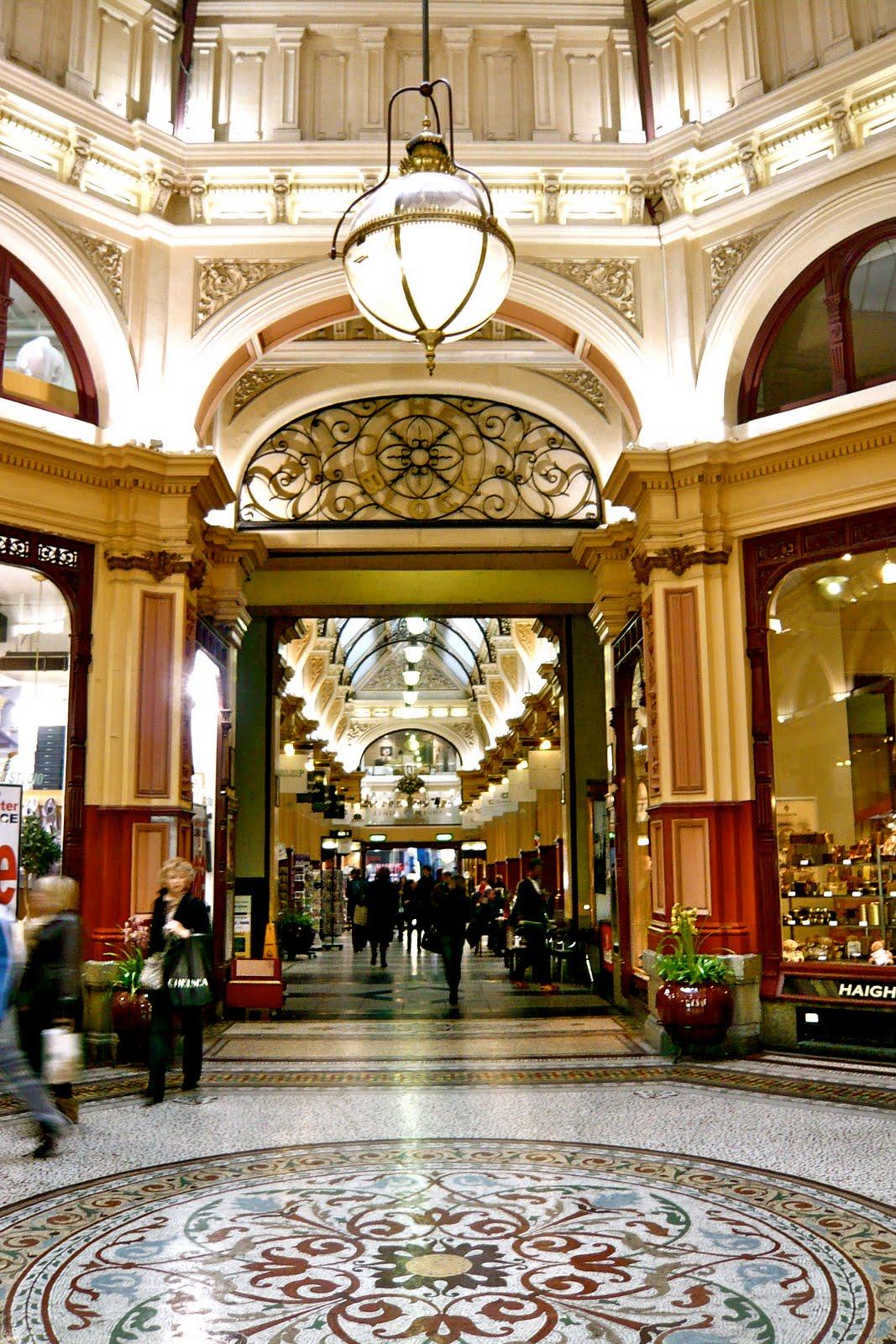 Melbourne Curious The Block Arcade Introduction