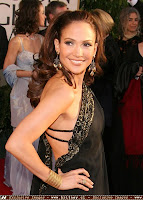Jennifer Lopez at the Golden Globe Awards