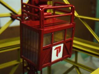 elevador de cremalheira miniatura
