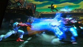 Imagens do jogo Street Fighter X Tekken