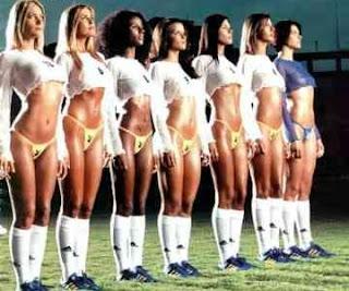 Canditadas a musa do Campeonato Paulista da 4ª divisão