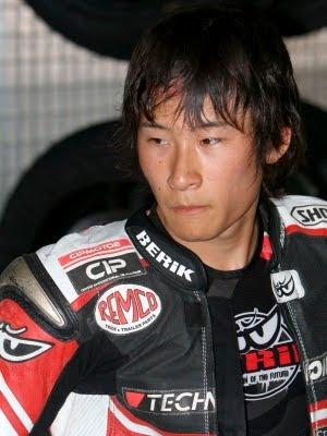 Piloto japonês morre em corrida