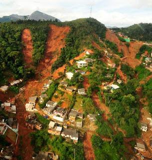 Fotos de Nova Friburgo - Tragédia e Desatre