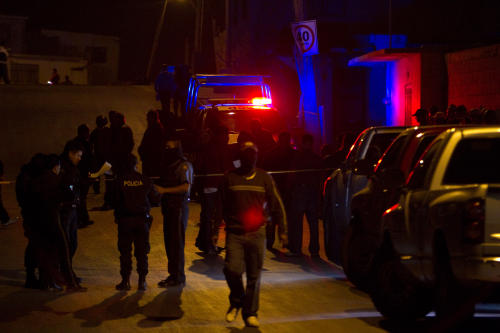 Authorities investigate an attack on a drug rehab center in Ju