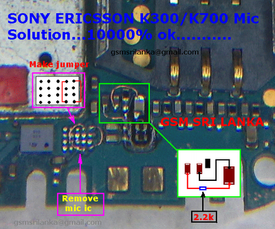 Labels: Sony Ericsson K700 Mic Solution