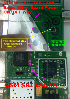 nokia 1202 schematic diagram SIM IC Jumper
