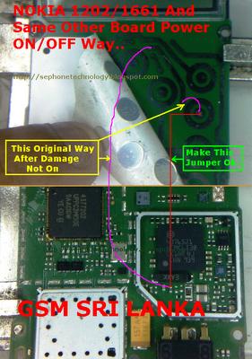 nokia 1202 schematic diagram SIM IC Jumper