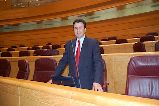 Félix Lavilla, portavoz Grupo Socialista en la Comisión Industria, Turismo y Comercio del Senado. Foto Prensa Grupo Socialista en el Senado. Arantxa Gutiérrez