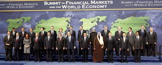 Cumbre mundial de Washington. Foto El País