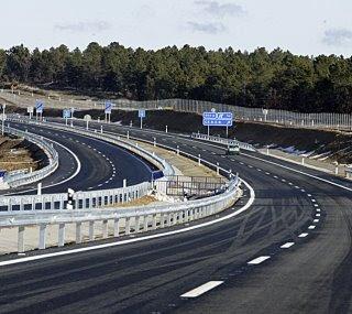 Autovía Soria - Madrid, tramo Almazán - Cubo de la Solana. Foto Luis Angel Tejedor de Heraldo de Soria