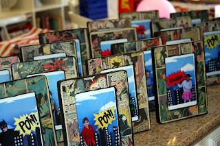 marcos de fotos hechos con comics