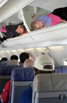 The various luggage fees are getting RIDICULOUS! Kids, ya might as well sit in a SEAT, because the seats will end up being CHEAPER!!