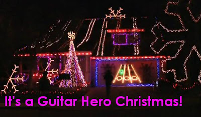 Finally, a way to make Guitar Hero relevant at Christmas.