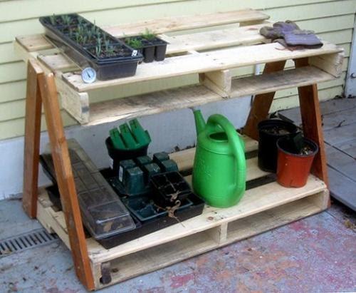 Inspiraci n hecha a mano 20 ideas para la reutilizaci n de pales - Reciclaje de pales ...