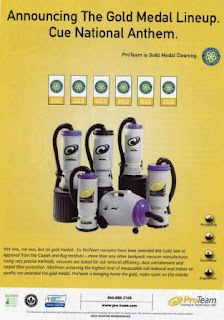 ProTeam's Gold-level Seal of Approval-certified Vacuums
