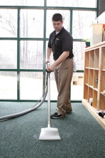 carpet cleaning and maintenance: daily vacuuming